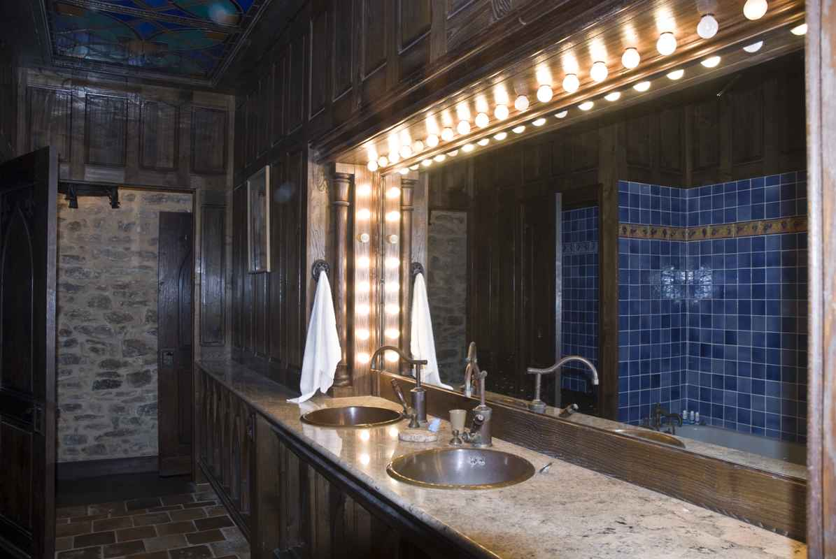 aubusson mirror aubusson detail  childrens bathroom  aubusson mirror aubusson detail : architecture bathroom toilet