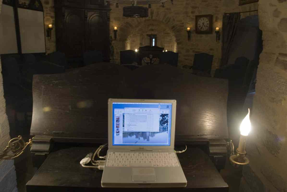 Montbrun Castle Conference Room