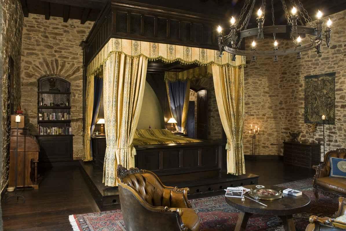 Montbrun Castle Master Bedroom